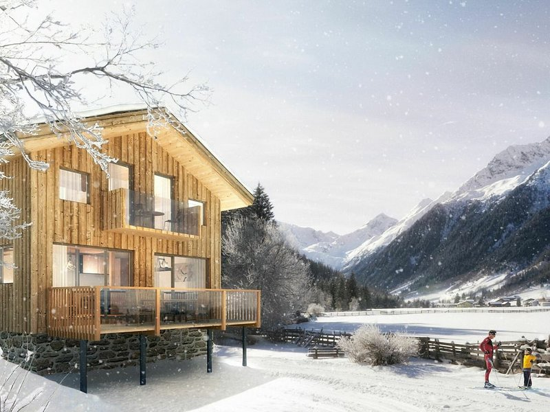 Cozy Chalet in Steinach am Brenner with Balcony and sauna, vacation rental in Vipiteno