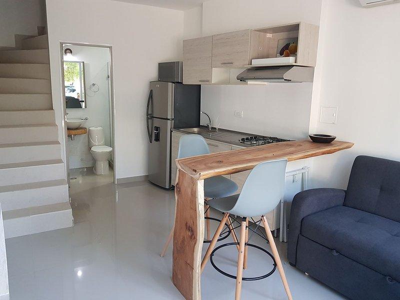 Apartamento duplex CASA MANGLE, holiday rental in La Boquilla