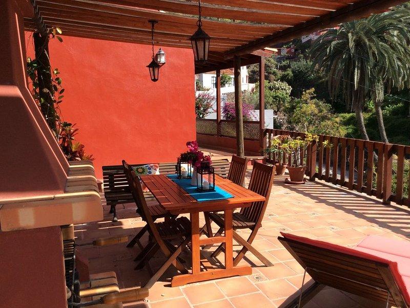 Cómoda casa con vistas al Valle de Hermiga, vacation rental in La Gomera