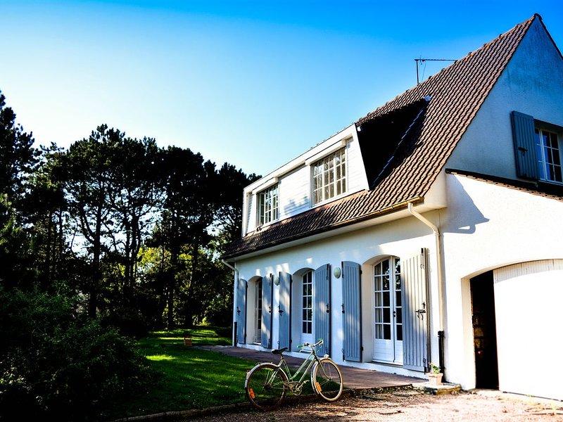 Maison au calme, proche de la mer, avec grand jardin clos, alquiler vacacional en Hesdin-l'Abbe