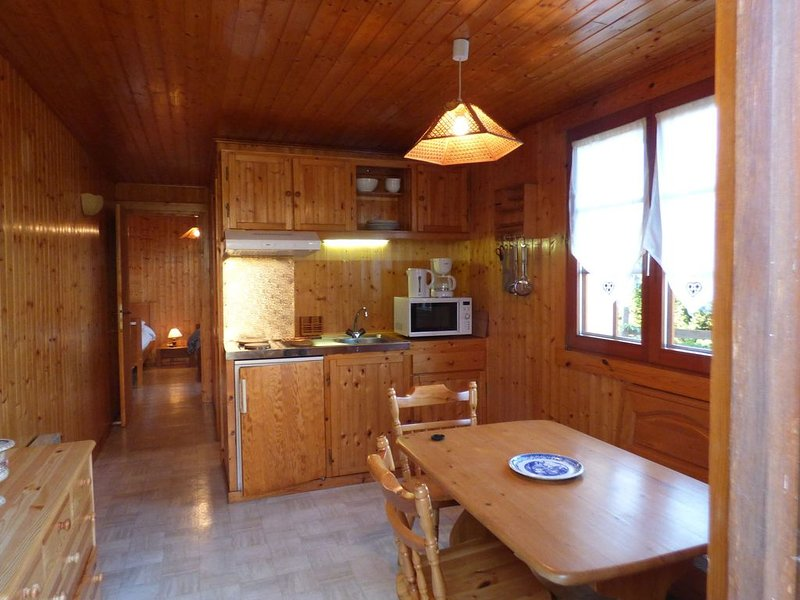 Ground-floor home in authentic chalet in a unique location near the pistes in th, location de vacances à Bussang