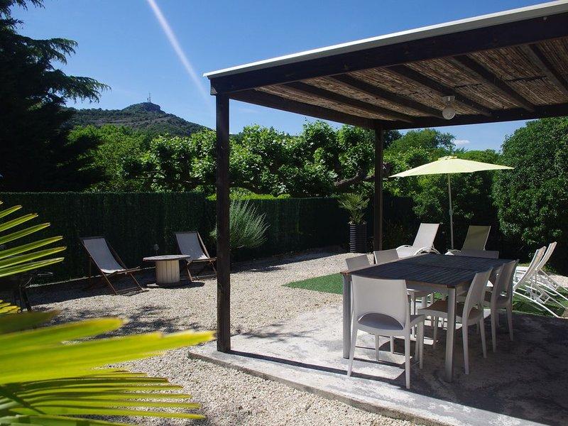 La Pausa Gite individuel tout confort proche rivière et village, location de vacances à Vallon-Pont-d'Arc
