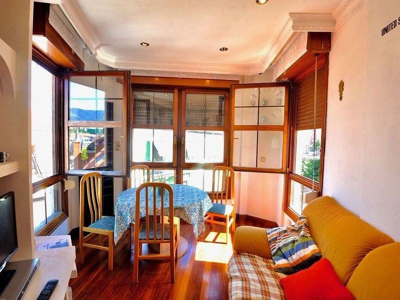 Windows int he tower-Living room