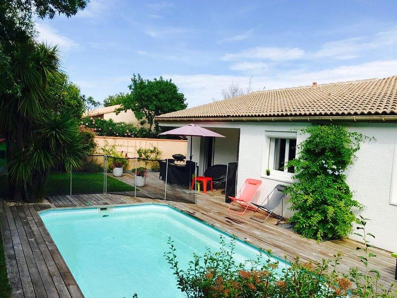 Villa moderne au calme et sans vis à vis, location de vacances à Baho