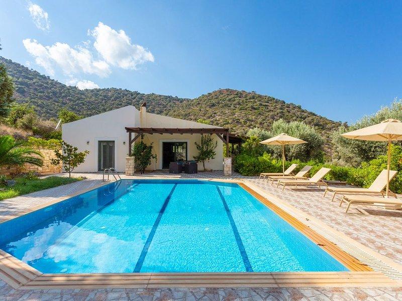 Villa Dimitrios: Large Private Pool, Sea Views, WiFi, Eco-Friendly, vacation rental in Bali