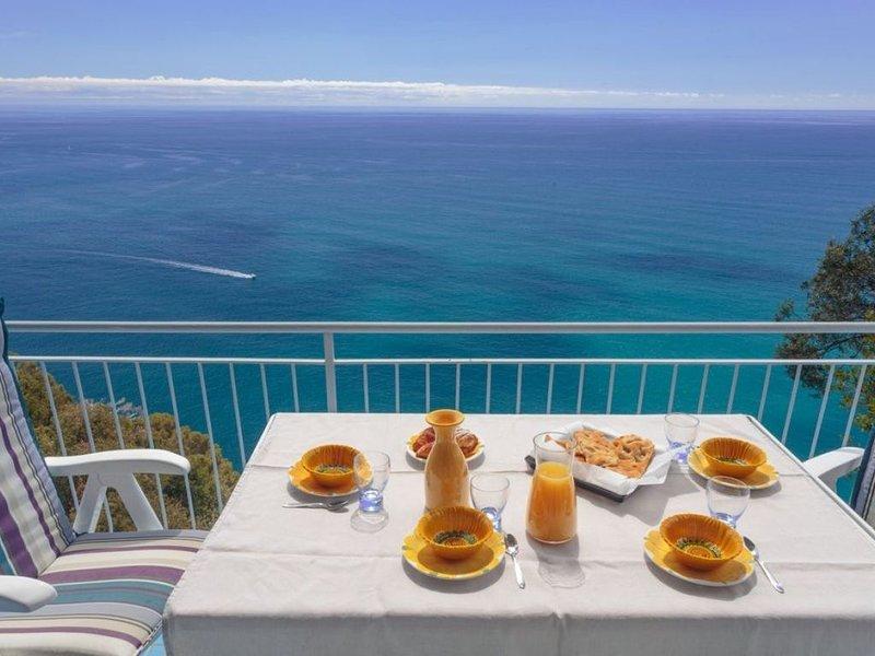 Vista spettacolare, wifi, parcheggio( CITRA 010015-LT-0243 ), vacation rental in Leivi