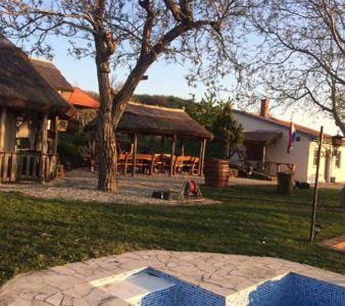Gezellig zomerhuis op wijngaard!!, vacation rental in Tolna County