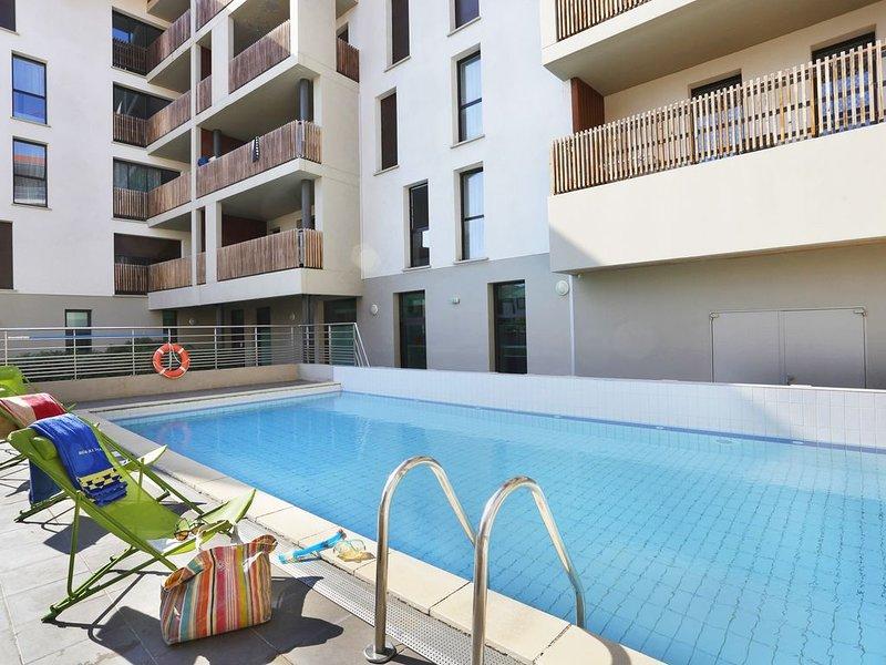 Appart cosy et sympa 8p avec balcon, à 50m de la plage !, vacation rental in Capbreton