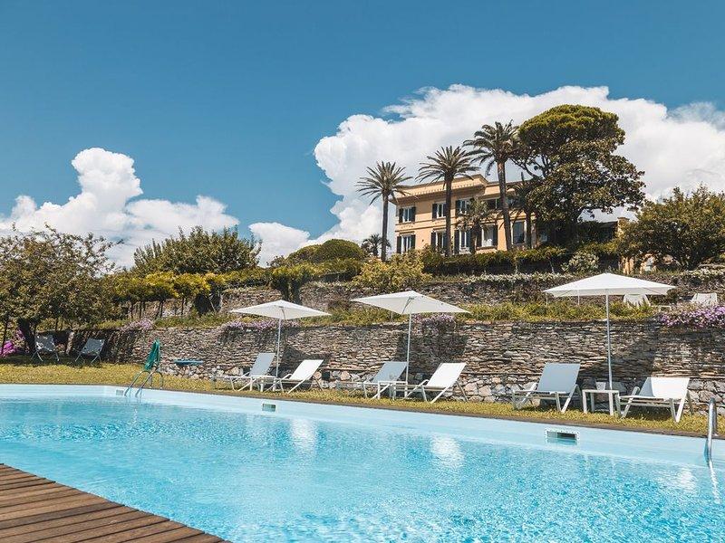 Villa Riviera, luxury stay between Portofino & Cinque Terre, location de vacances à Ne