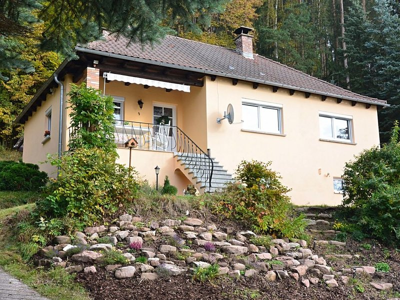 Cozy Holiday Home in Sachspfeife with Sun Terrace, location de vacances à Franconia