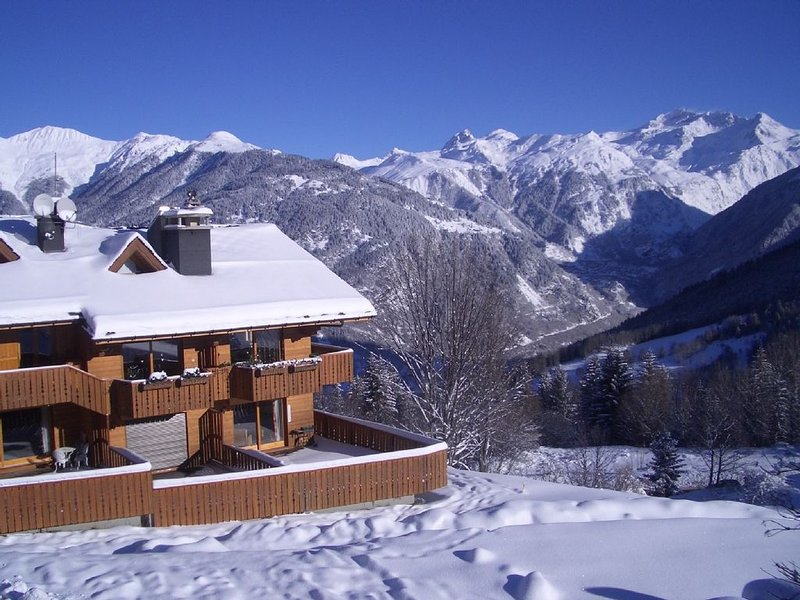 Lovely apartment Courchevel Village (Courchevel 1550), Ferienwohnung in Courchevel