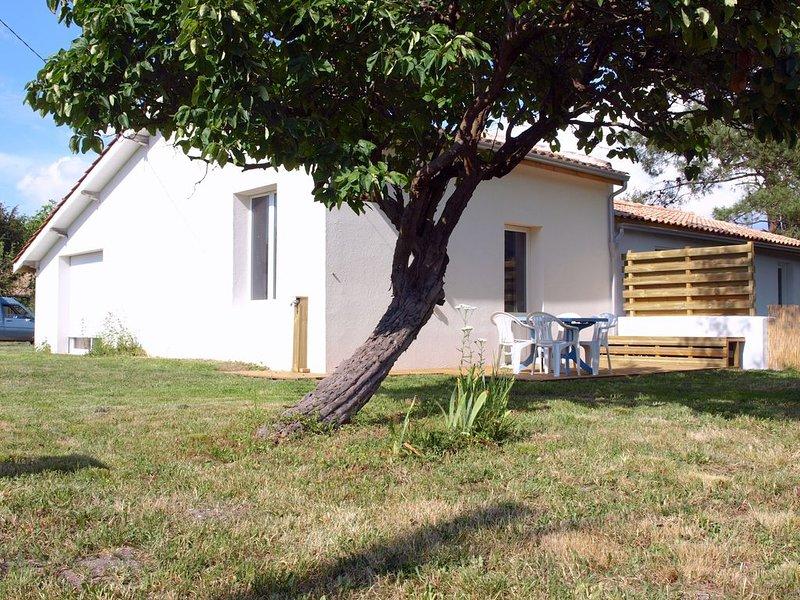Maison de vacances entre Soulac et Montalivet.  Médoc., casa vacanza a Grayan-Et-L'Hopital
