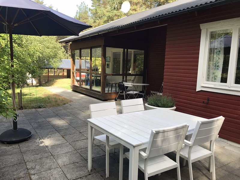 Holiday home by the beach in Yngsjö, holiday rental in Ahus