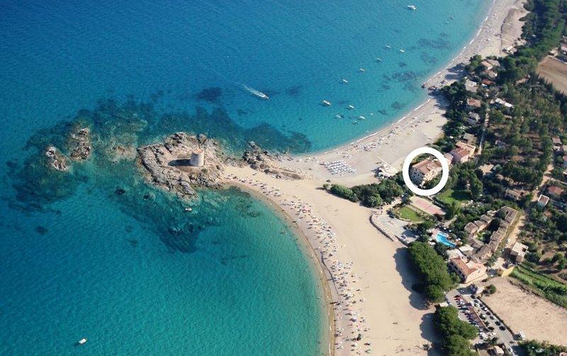 Appartamento in residence sulla spiaggia Torre di Barì., holiday rental in Torre di Bari