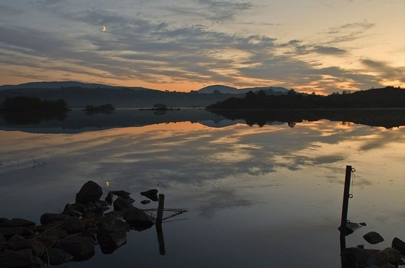 Lough Corrib in the evening - Simply breath-taking !