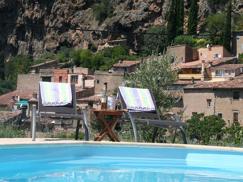 Private Swimming Pool, Beautiful View Over The Landscape Around, location de vacances à Sillans-la-Cascade