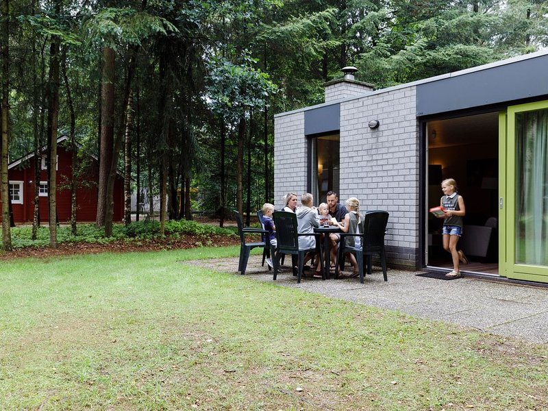 Well-kept bungalow with a fireplace in the Veluwe, holiday rental in Vaassen