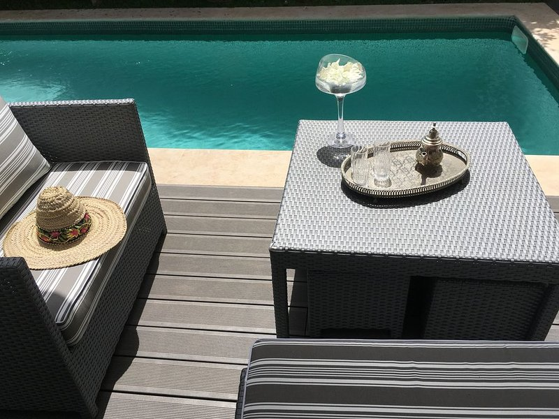5mn à pied de la mer, piscine privée, à El Jadida, UNESCO, magnifique villa, holiday rental in El Jadida