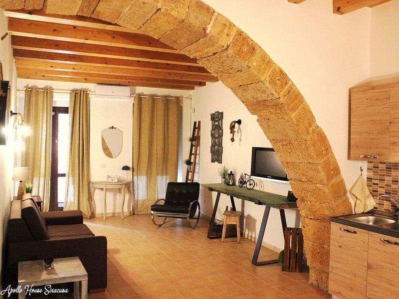 Casa Vacanza Apollo House in Ortigia - Siracusa, Ferienwohnung in Isola di Ortigia