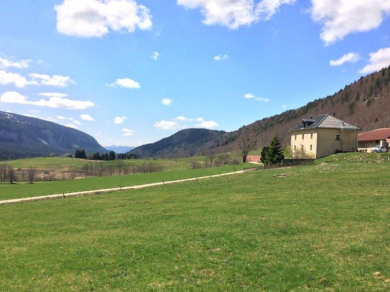 Gîte de charme 2 personnes au coeur du Haut-Jura, location de vacances à Les Rousses
