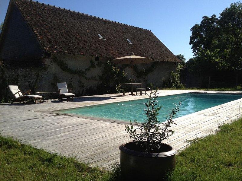 Charmante maison avec piscine au coeur des Châteaux de la Loire, location de vacances à Mont-pres-Chambord