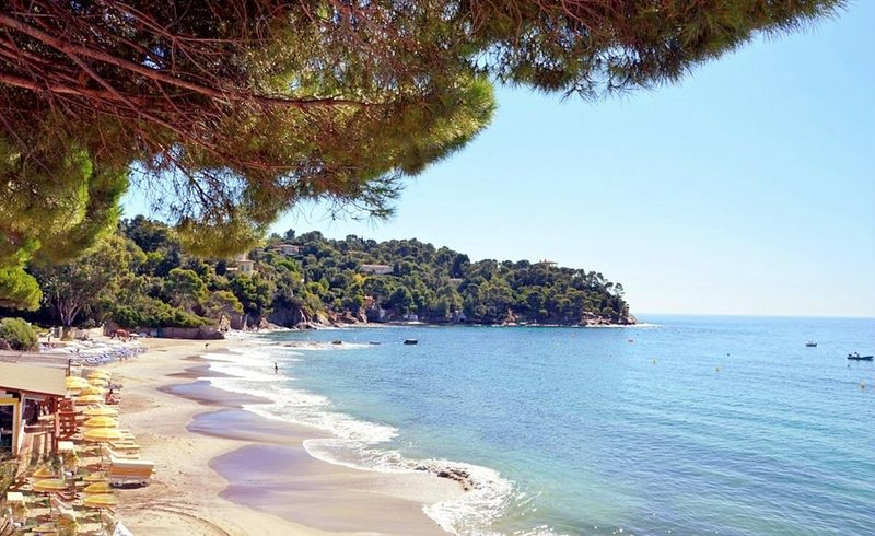 Gorgeous villa facing the sea 3 - 5 mints stroll to beach, holiday rental in Rayol-Canadel-sur-Mer