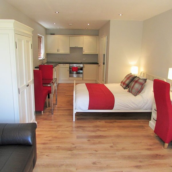 Luxury Studio Apartment for short term let near Addenbrookes and 10 minutes bus, location de vacances à Saffron Walden