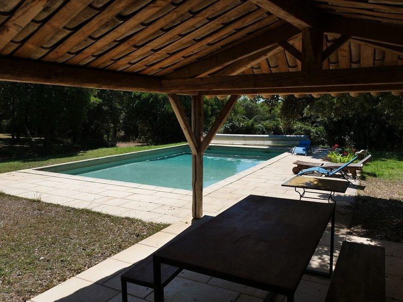joli mas provençal tel que giono en rêvait, holiday rental in Clarensac
