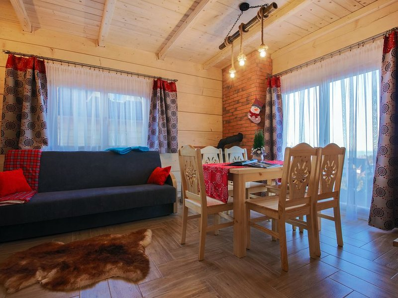 Beautiful challets with amazing mountain panorama, vacation rental in Rzepiska