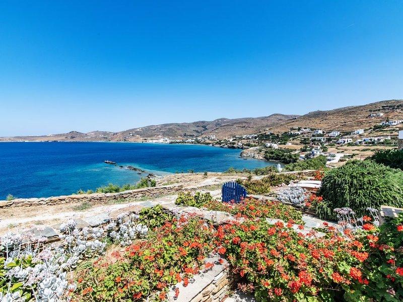Casa sul mare accanto alla spiaggia - C // Stavros Bay, location de vacances à Tinos Town