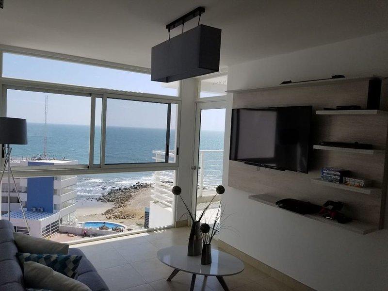 Ocean Club Beach&Resort departamento nuevo minimalista moderno, holiday rental in Playas
