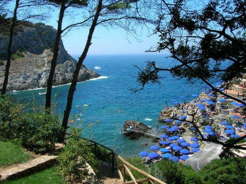 Villa sul mare con giardino a CALA PICCOLA, Porto Santo Stefano Monte ArgentarIo, casa vacanza a Isola di Giannutri