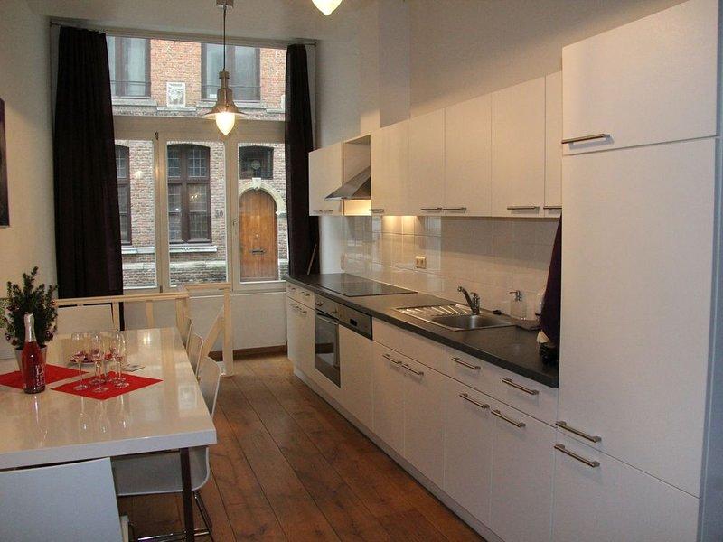 Charmant en modern appartement, gelegen op toplocatie!, vacation rental in Antwerp Province