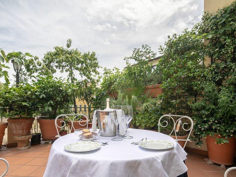 Nel centro di Firenze appartamento di oltre 150 mq con terrazzo WIFI gratuito, holiday rental in San Martino alla Palma