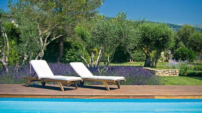 Brand New! Cote d'Azur: Stunning villa by the charming village of Tourrettes, location de vacances à Tourrettes-sur-Loup
