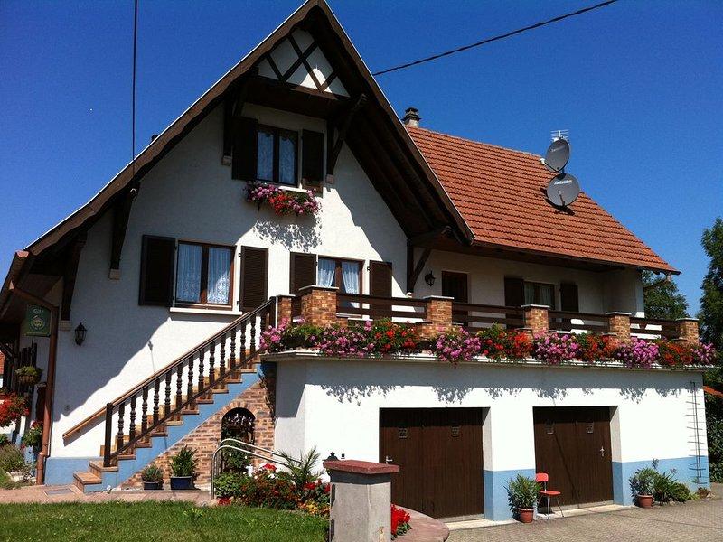 Gîte rural classé 2 épis Maison avec jardin  - Classement Touristique 3 étoiles, holiday rental in Oberotterbach