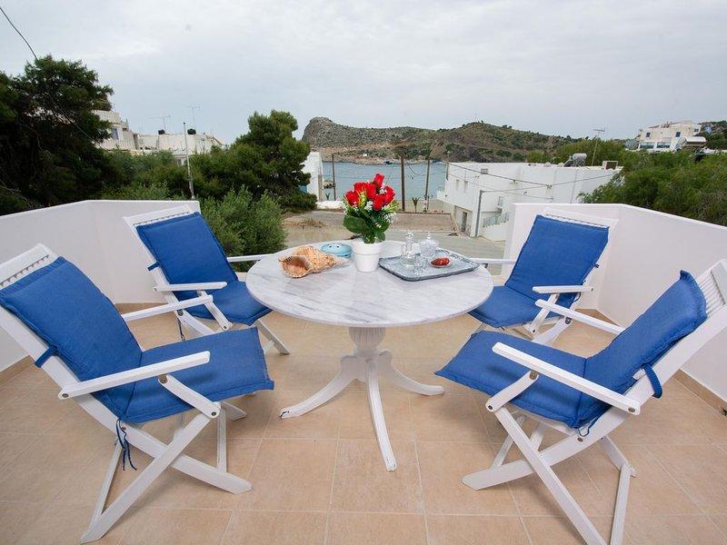 Seaside Apartments-Ariadni, vacation rental in Lentas