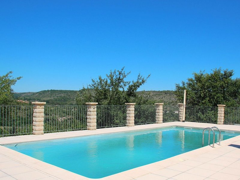 Peaceful Holiday Home in Les Vans, Ardeche with Pool, vacation rental in Les Vans