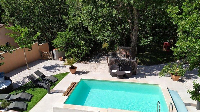 Magnifique Villa avec piscine - La Provence au calme -30min des plages, location de vacances à Puget-Ville