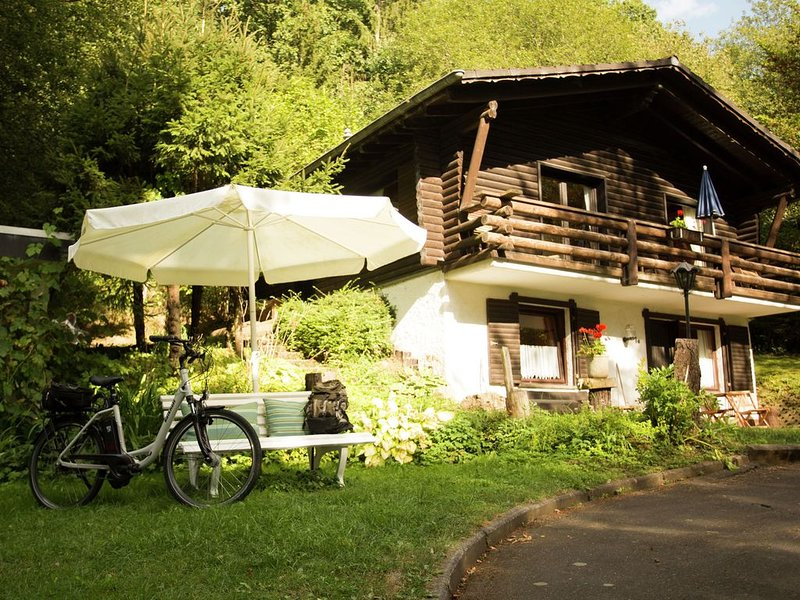 Well-kept apartment, located in a wooded area, holiday rental in Densborn