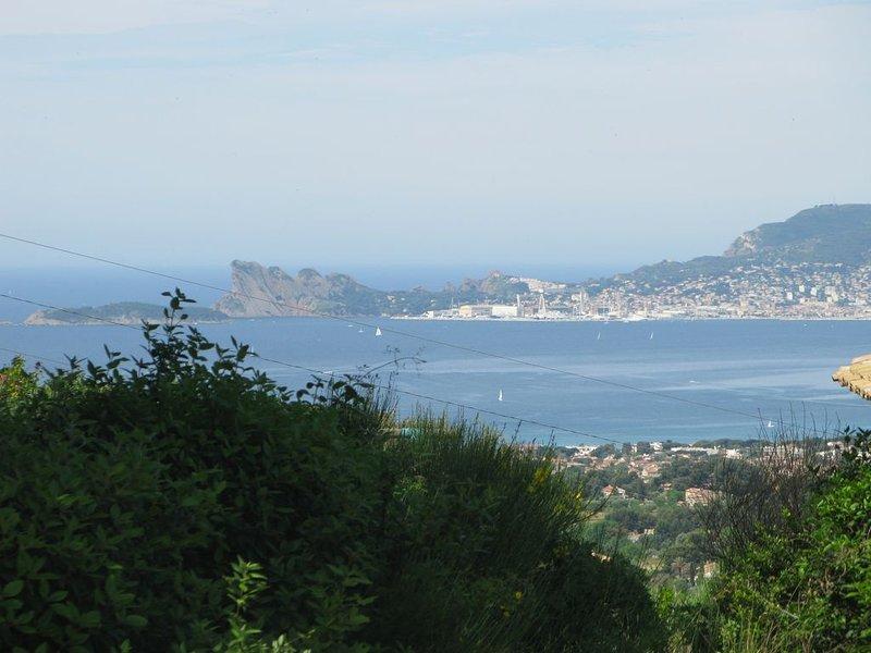 vue imprenable et tranquilité, holiday rental in La Cadiere d'Azur