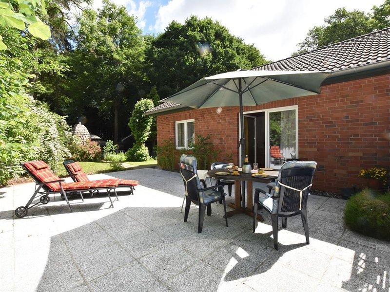 Country holiday home in Damshagen with sauna, holiday rental in Stellshagen