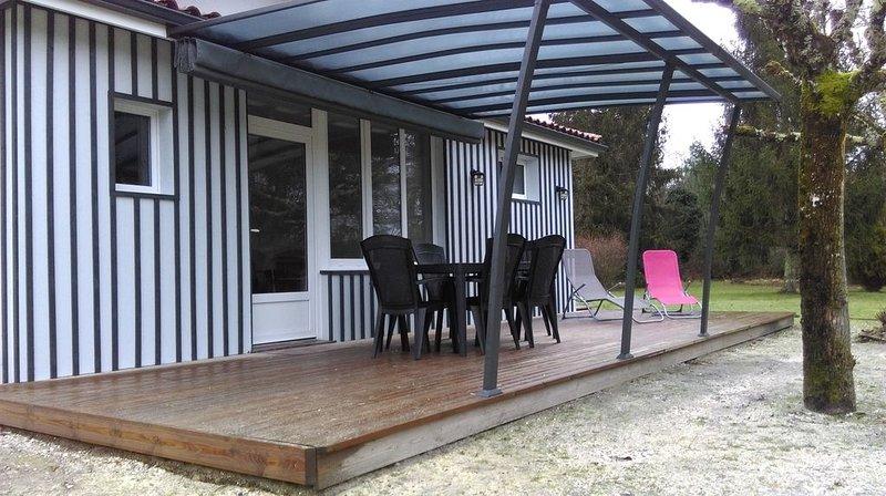 AU COEUR DU BASSIN D'ARCACHON - GITE DE BAS VALLON, holiday rental in Audenge