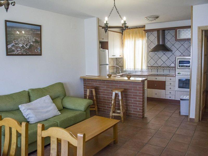 Casa rural Las Callejuelas de 6 personas, casa vacanza a Albalate de las Nogueras