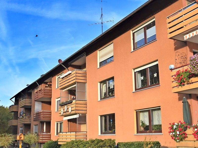 Beautiful apartment in Bodenwerder in the Weser Uplands with covered balcony, holiday rental in Bodenwerder