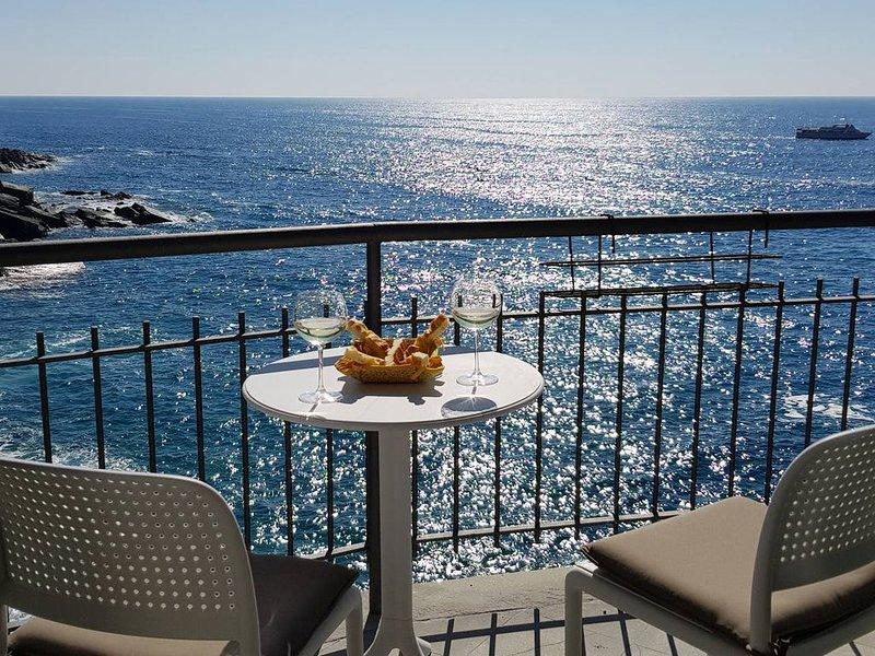 Fivestay - Casa Gabri - Stunning Seafront studio!, holiday rental in Vernazza