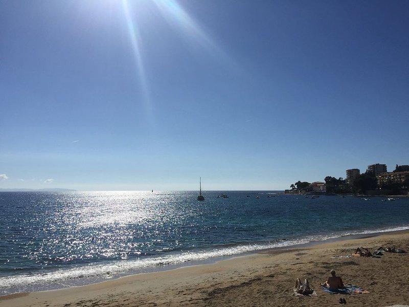 APPARTEMENT 2 CHAMBRES EN CENTRE VILLE A 50M DE LA PLAGE, vacation rental in Ajaccio