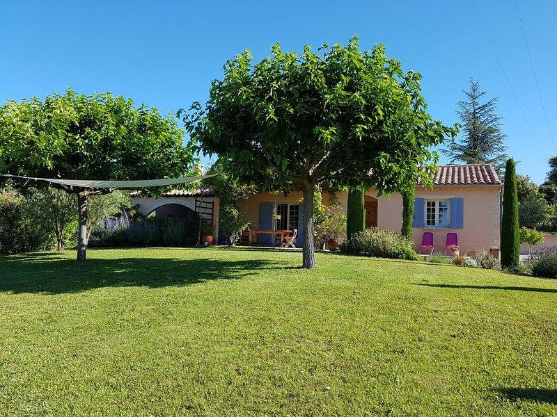 charmante villa située au pied du Mont Ventoux et proche des vignes, holiday rental in Modene