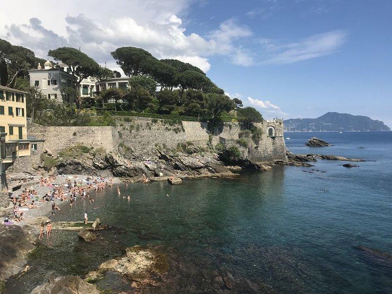 Sea house Nervi Capolungo, holiday rental in Bargagli