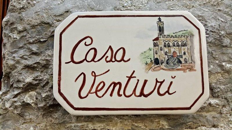 Casa al centro storico di Gubbio, vacation rental in Ponte d'Assi